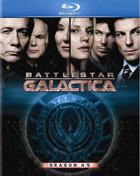 Battlestar Galactica: Season 4.5 was released on Blu-Ray on July 28th, 2009.