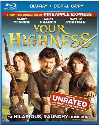 Your Highness was released on DVD and Blu-ray on August 9th, 2011
