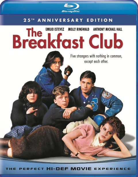 The Breakfast Club: 25th Anniversary Edition was released on Blu-ray on August 3rd, 2010