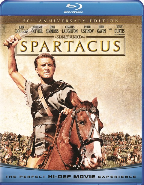 Spartacus: 50th Anniversary Edition was released on Blu-ray on May 25th, 2010