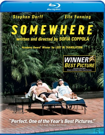 Somewhere was released on Blu-Ray and DVD on April 19, 2011.