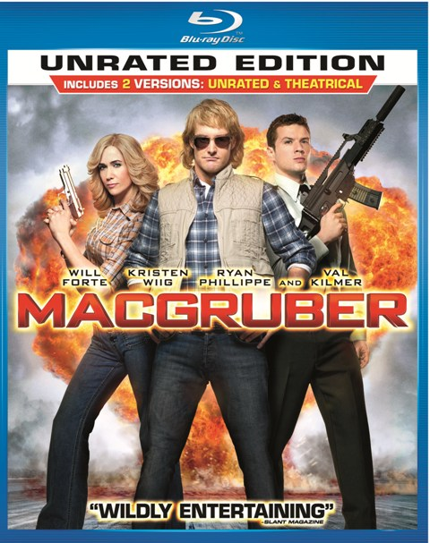 MacGruber was released on Blu-ray and DVD on September 7th, 2010