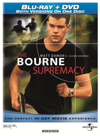 The Bourne Identity, The Bourne Supremacy, and The Bourne Ultimatum were released on Blu-ray/DVD Combo on January 26th, 2010.