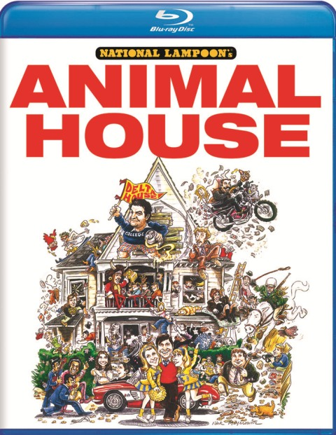 National Lampoon's Animal House will be released on Blu-ray on July 26th, 2011