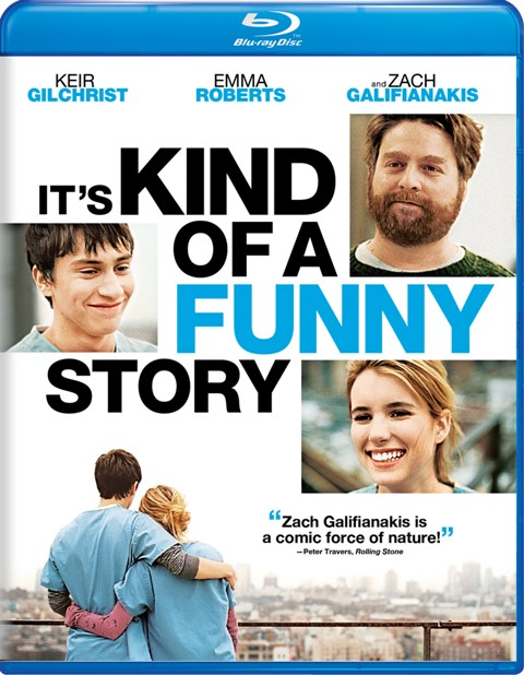 It's Kind of a Funny Story was released on Blu-ray and DVD on February 8th, 2011