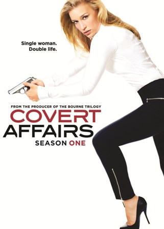 Covert Affairs: Season One was released on DVD on May 17, 2011