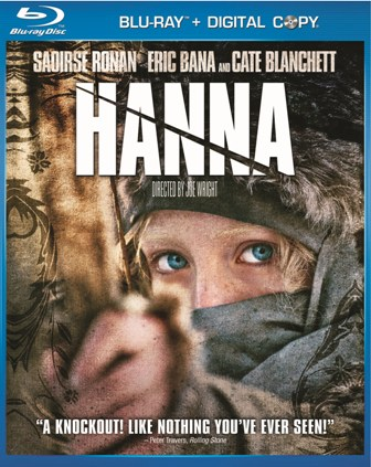 Hanna was released on Blu-ray and DVD on September 6th, 2011