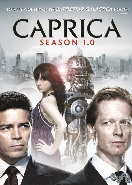 Caprica: Season 1.0 was released on DVD on Oct. 5, 2010.