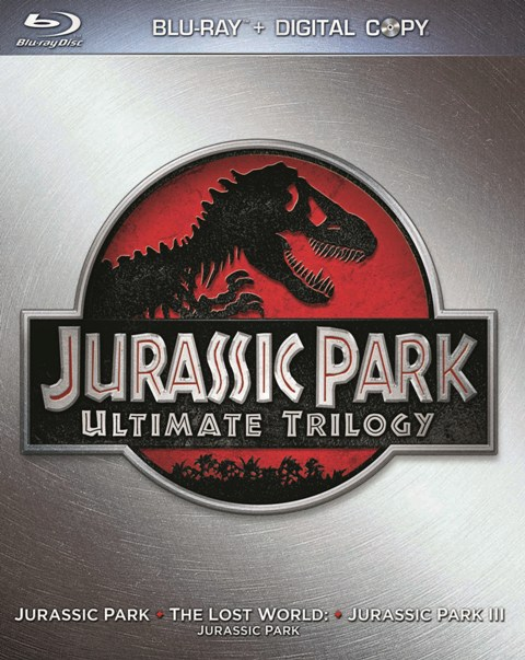 Jurassic Park Ultimate Trilogy was released on Blu-ray and DVD on October 25th, 2011