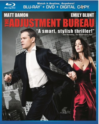The Adjustment Bureau was released on Blu-Ray and DVD on June 21st, 2011