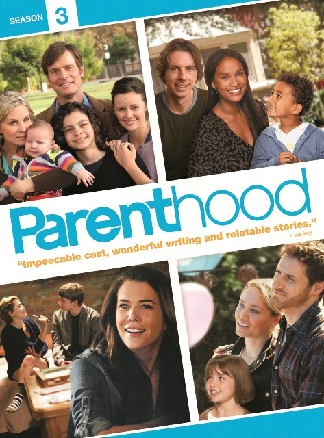 Parenthood: Season 3 was released on DVD on August 7, 2012