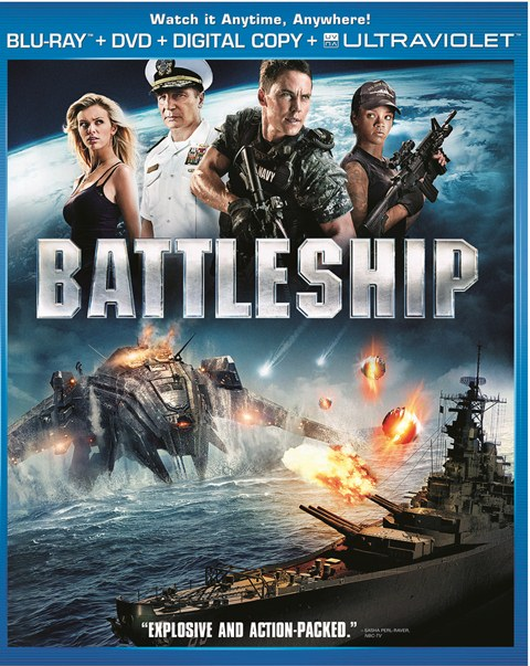 Battleship was released on Blu-ray and DVD on August 28, 2012