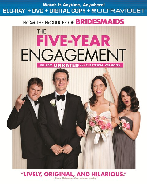 The Five-Year Engagement was released on Blu-ray and DVD on September 4, 2012