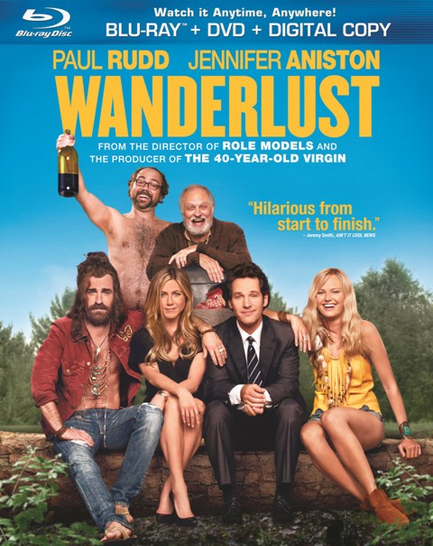 Wanderlust was released on Blu-ray and DVD on June 19, 2012