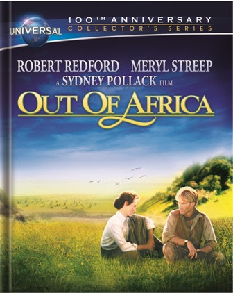 Out of Africa was released on Blu-ray and DVD on March 6, 2012