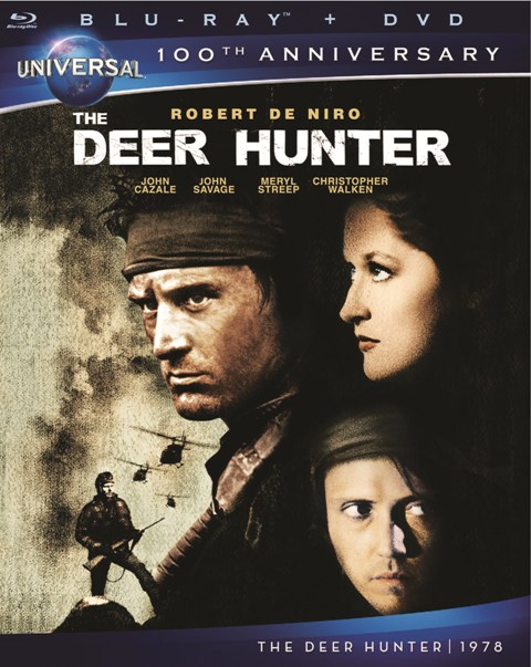 The Deer Hunter was released on Blu-ray and DVD on March 6, 2012