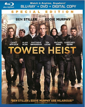 Tower Heist was released on Blu-ray and DVD on February 21, 2012