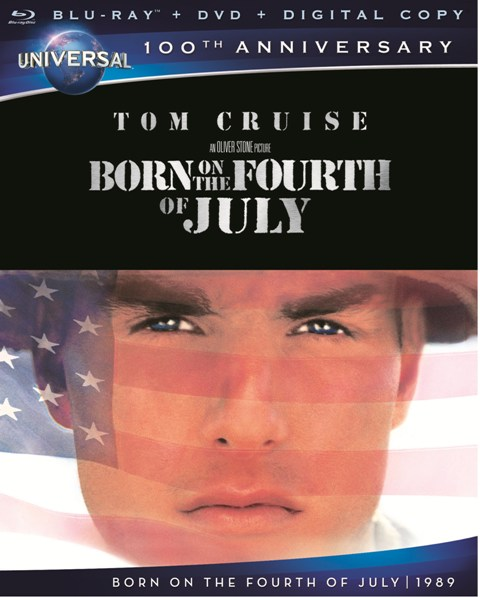 Born on the Fourth of July was released on Blu-ray on July 3, 2012