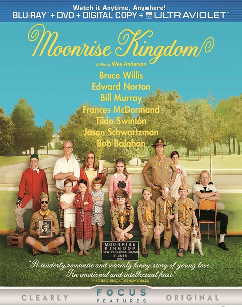 Moonrise Kingdom was released on Blu-ray and DVD on October 16, 2012