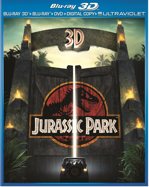 Jurassic Park 3D was released on 3D Blu-ray, Blu-ray and DVD on April 23, 2013