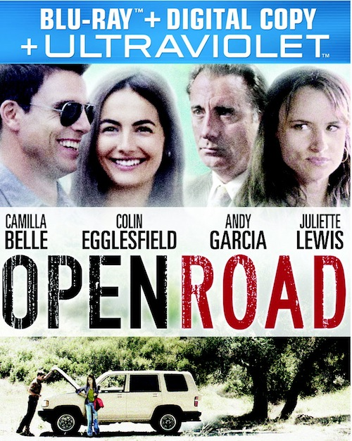 Open Road was released on Blu-ray and DVD on May 21st, 2013.