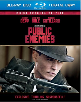 Public Enemies was released on Blu-Ray and DVD on December 8th, 2009.