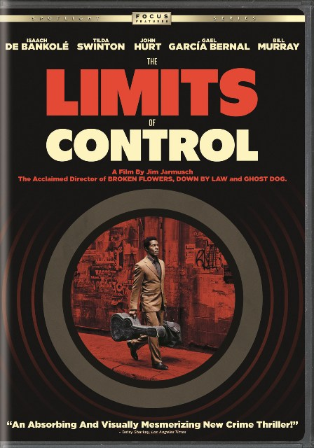 The Limits of Control was released on DVD on November 17th, 2009.