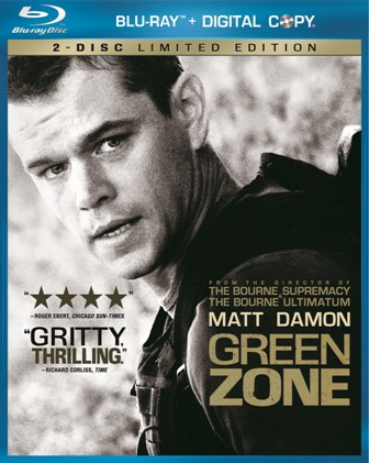 Green Zone was released on Blu-ray and DVD on June 22nd, 2010