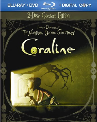 Coraline was released on Blu-Ray on July 21st, 2009.