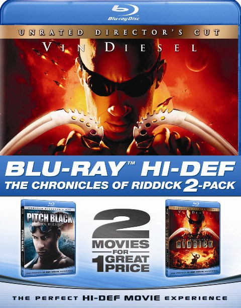 Pitch Black and The Chronicles of Riddick were released on Blu-Ray on March 31st, 2009.