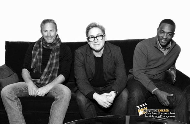 Kevin Costner, Mike Binder, Anthony Mackie