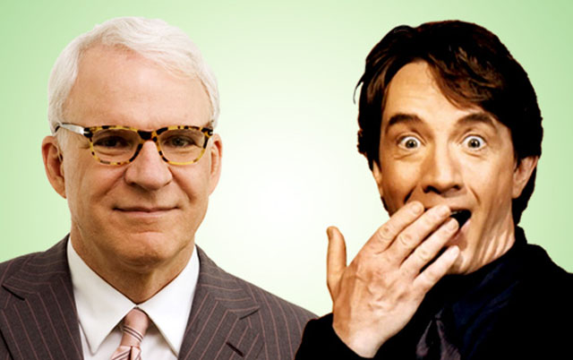 'Steve Martin and Martin Short in a Very Stupid Conversation'