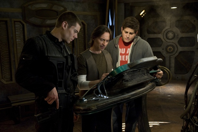 Brian J. Smith, Robert Carlyle and David Blue star in the latest Stargate series, SG-U Stargate Universe.