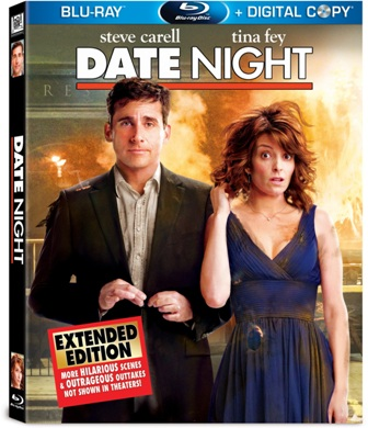 Date Night was released on Blu-ray and DVD on August 10th, 2010