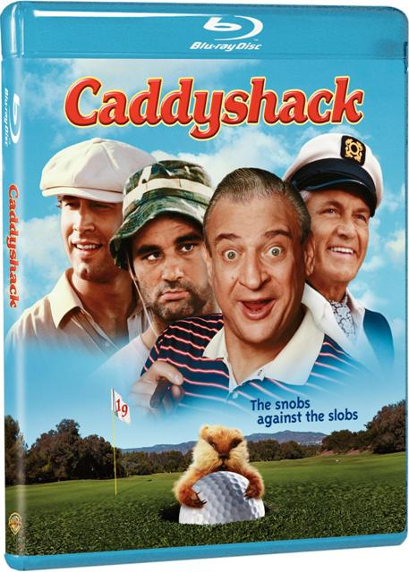 Caddyshack was released on Blu-ray, On Demand at Amazon, and for download on iTunes on June 8th, 2010
