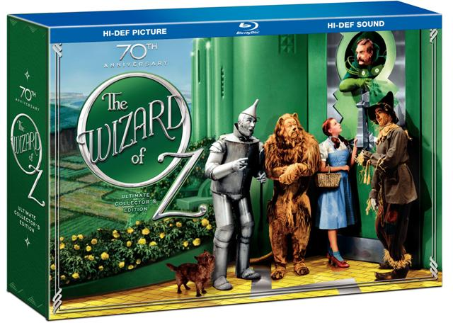 The Wizard of Oz: 70th Anniversary Ultimate Collector's Edition was released on DVD and Blu-Ray on September 29th, 2009.