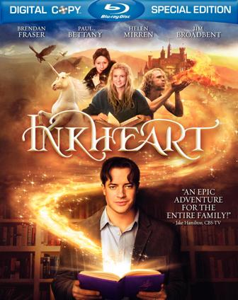 Inkheart was released on Blu-Ray on June 23rd, 2009.