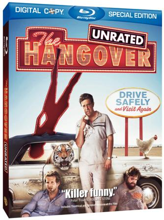 The Hangover was released on Blu-Ray and DVD on December 15th, 2009.