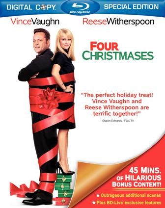 Four Christmases was released on Blu-Ray and DVD on November 17th, 2009.