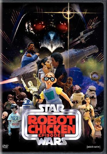 Robot Chicken: Star Wars Episode II was released on DVD on July 21st, 2009.