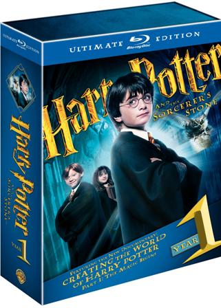 Harry Potter and the Sorcerer's Stone: Ultimate Edition was released on Blu-Ray and DVD on December 8th, 2009.