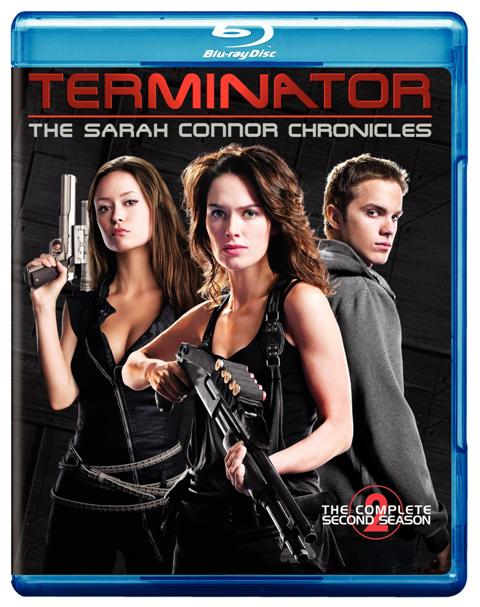 Terminator: The Sarah Connor Chronicles: The Complete Second Season was released on DVD and Blu-Ray on September 22nd, 2009.