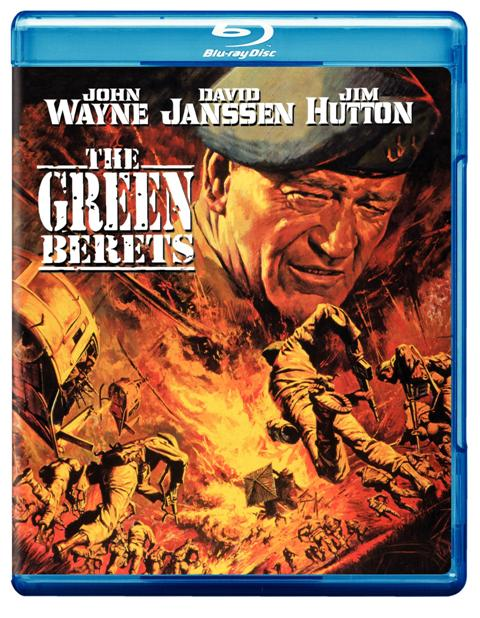 The Green Berets was released on Blu-Ray on January 5th, 2010.