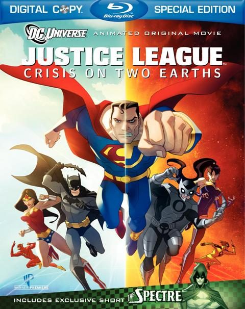 Justice League: Crisis on Two Earths was released on DVD and Blu-ray on February 23rd, 2010.