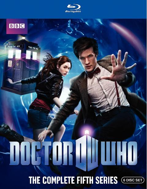 Doctor Who: The Complete Fifth Series was released on Blu-ray and DVD on November 9th, 2010