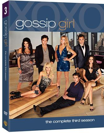 Gossip Girl: Season 3 was released on Blu-Ray and DVD on Aug. 24, 2010.