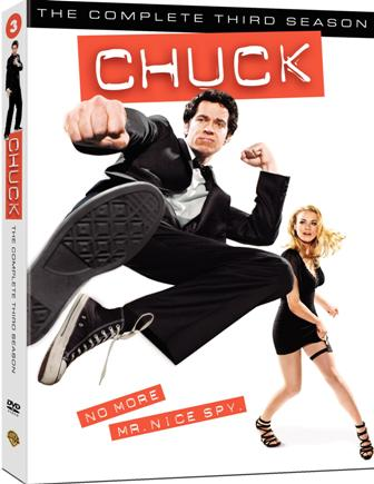Chuck: The Complete Third Season was released on DVD on September 7th, 2010.