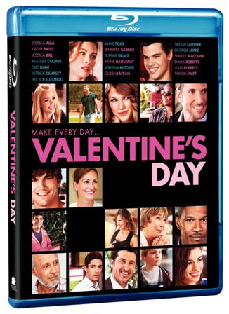 Valentine's Day was released on Blu-ray and DVD on May 18th, 2010