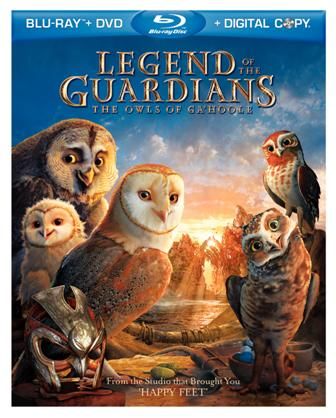 Legend of the Guardians: The Owls of Ga'Hoole was released on Blu-Ray and DVD on Dec. 17, 2010.