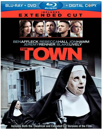 The Town was released on Blu-Ray and DVD on Dec. 17, 2010.